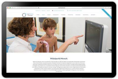 Webdesign für Ärzte