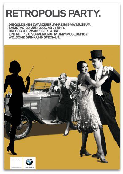 Retropolis Party Plakat